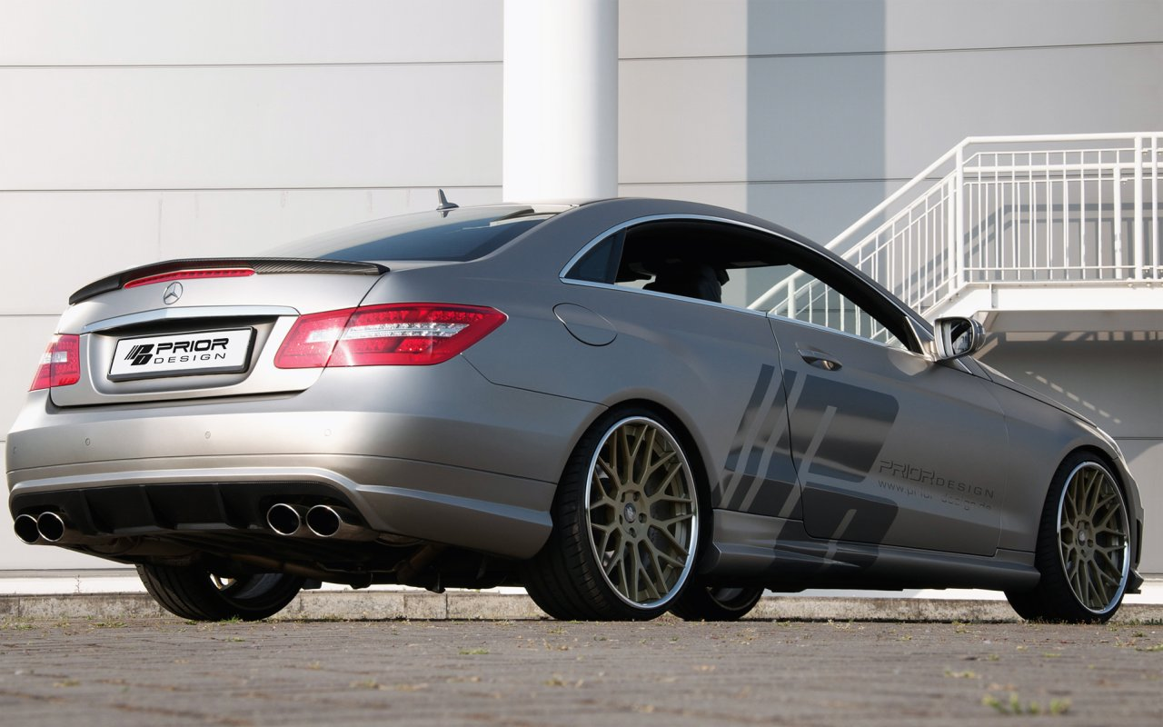 Mercedes benz e class tuning pictures for Mercedes benz w207