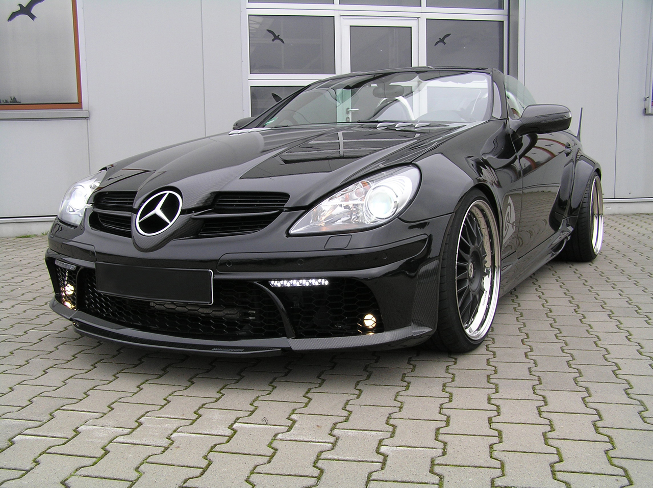 mercedes benz slk class tuning pictures. Black Bedroom Furniture Sets. Home Design Ideas