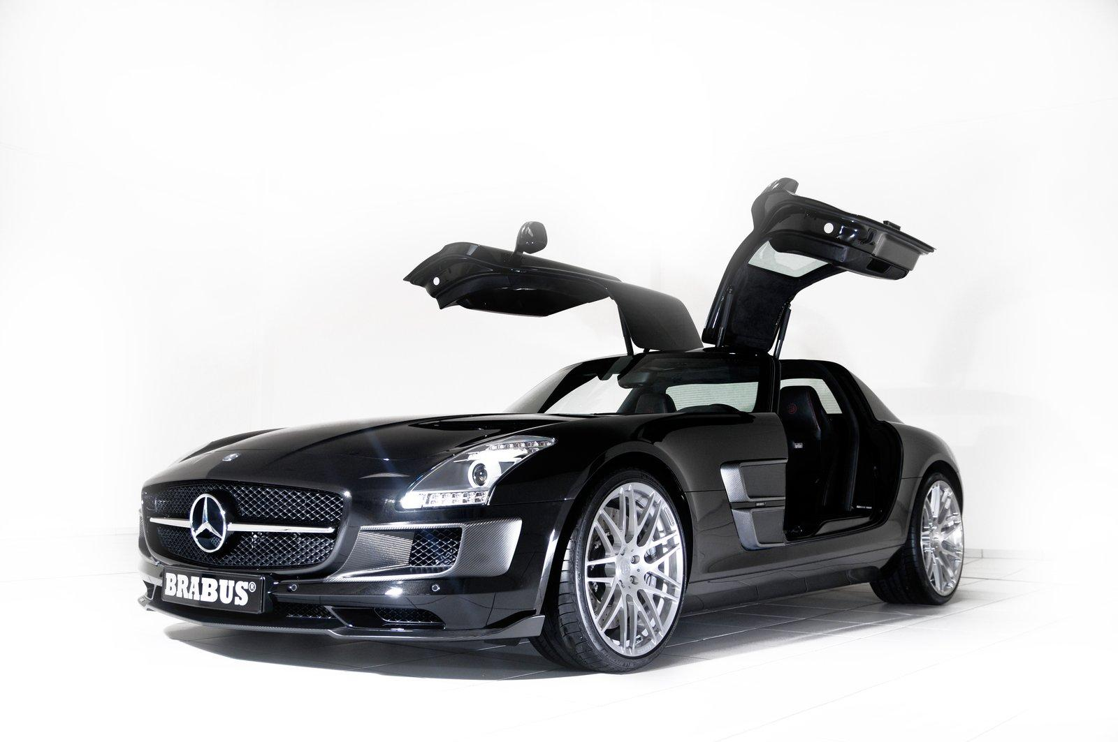 Mercedes benz sls class tuning pictures for Mercedes benz sls class
