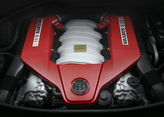 BRABUS B63 S engine details