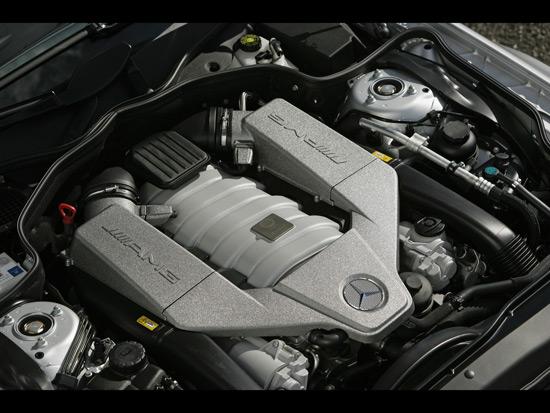 MErcedes SL AMG engine details