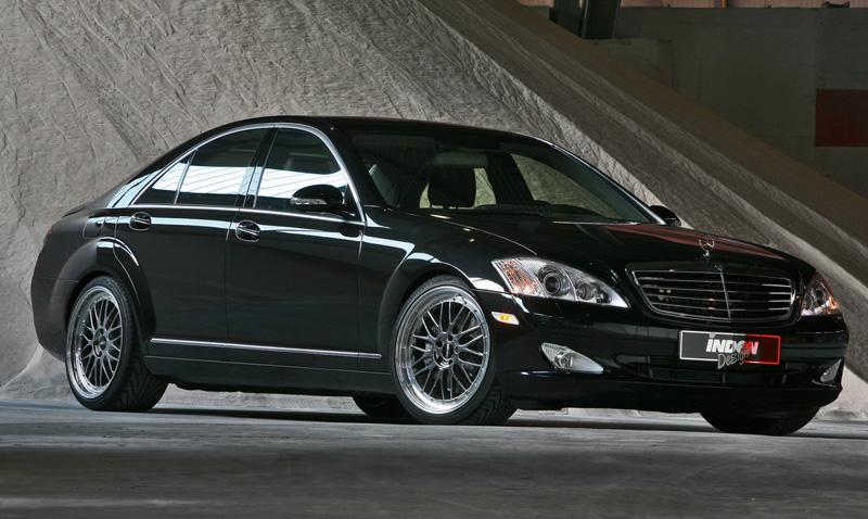 inden design mercedes s500 4matic 2 Inden Design Mercedes Benz S500 4MATIC