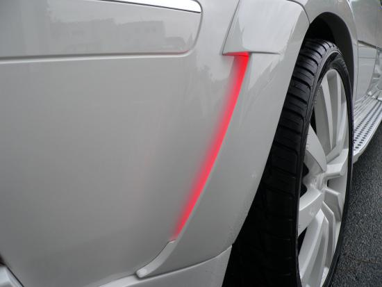 red led mammut mercedes tuning