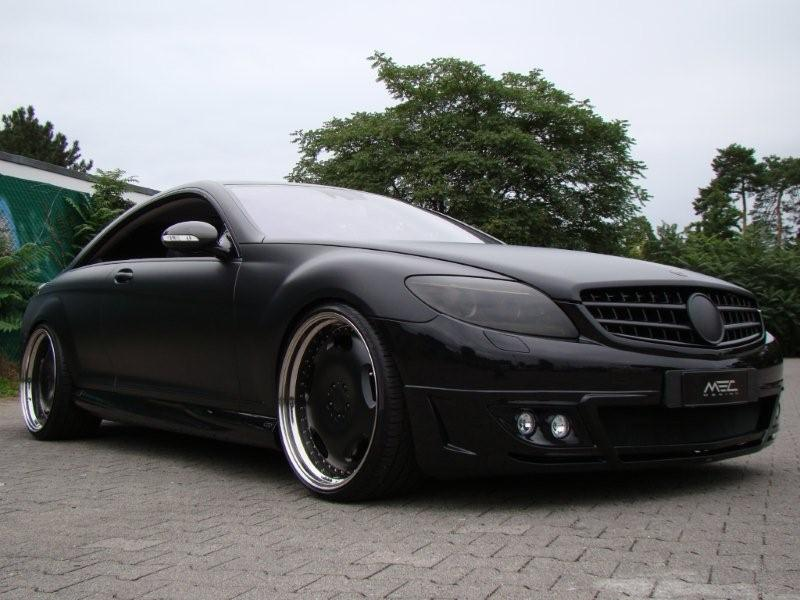 Mecdesign Blackbeast Mercedes Cls 6 Mercedes Tuning Mag