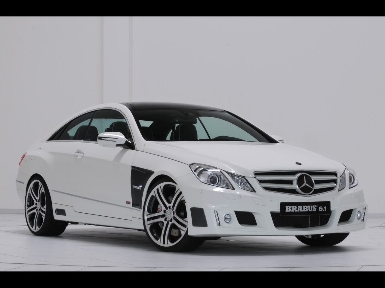 brabus mercedes benz e class coupe front and side 2 mercedesbrabus mercedes benz e class coupe front and side 2