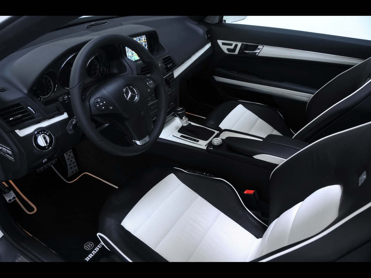 Brabus mercedes benz e class coupe interior mercedes tuning mag - Mercedes e coupe interior ...