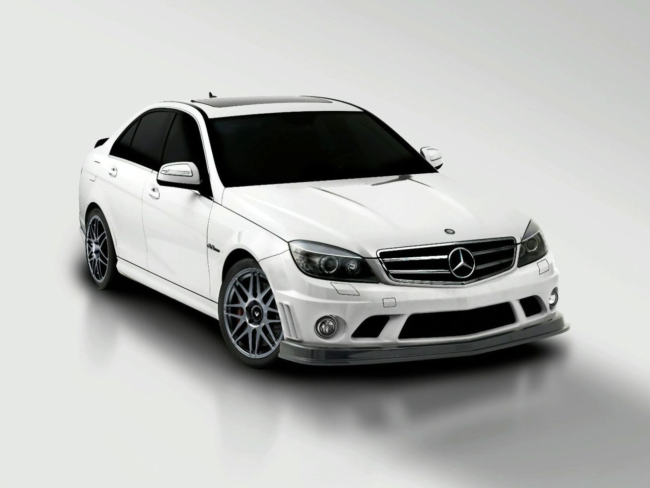 vorsteiner mercedes benz c63 amg aero package. Black Bedroom Furniture Sets. Home Design Ideas