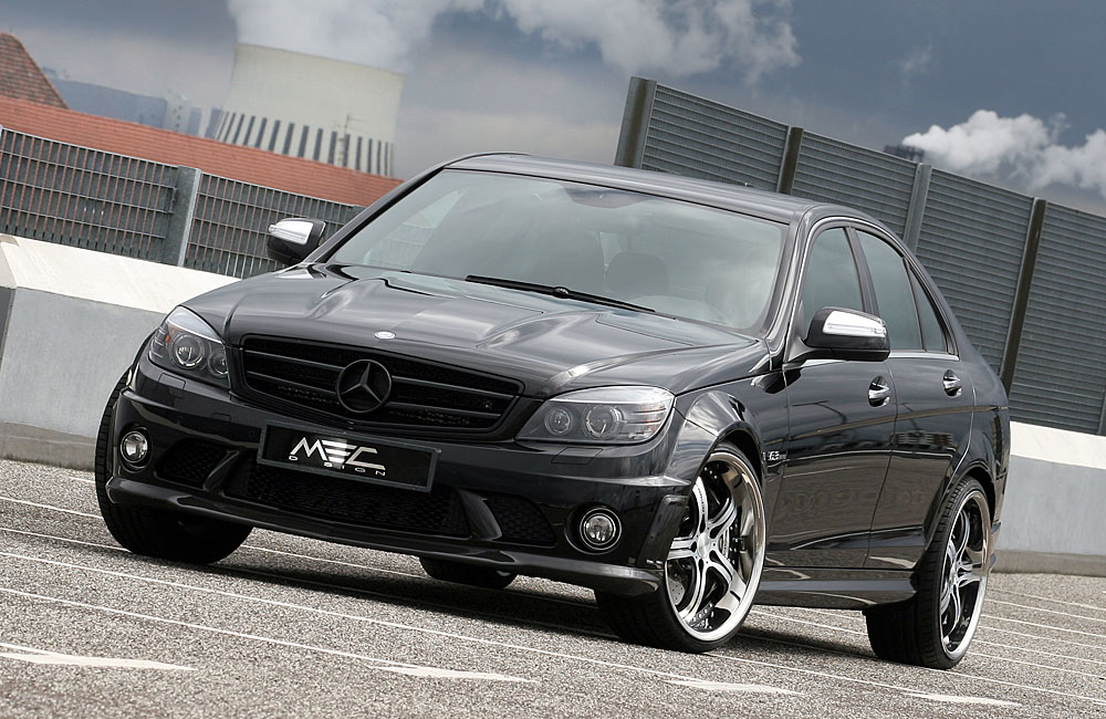 mercedes w204 c63 1 mercedes tuning mag. Black Bedroom Furniture Sets. Home Design Ideas