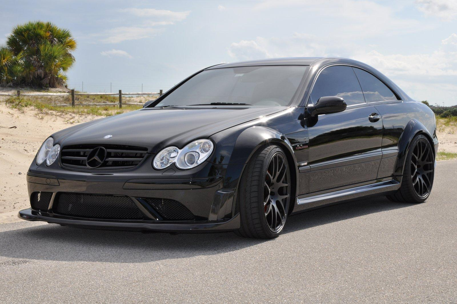 Renntech upgrades mercedes clk 63 black series with carbon for Mercedes benz upgrades