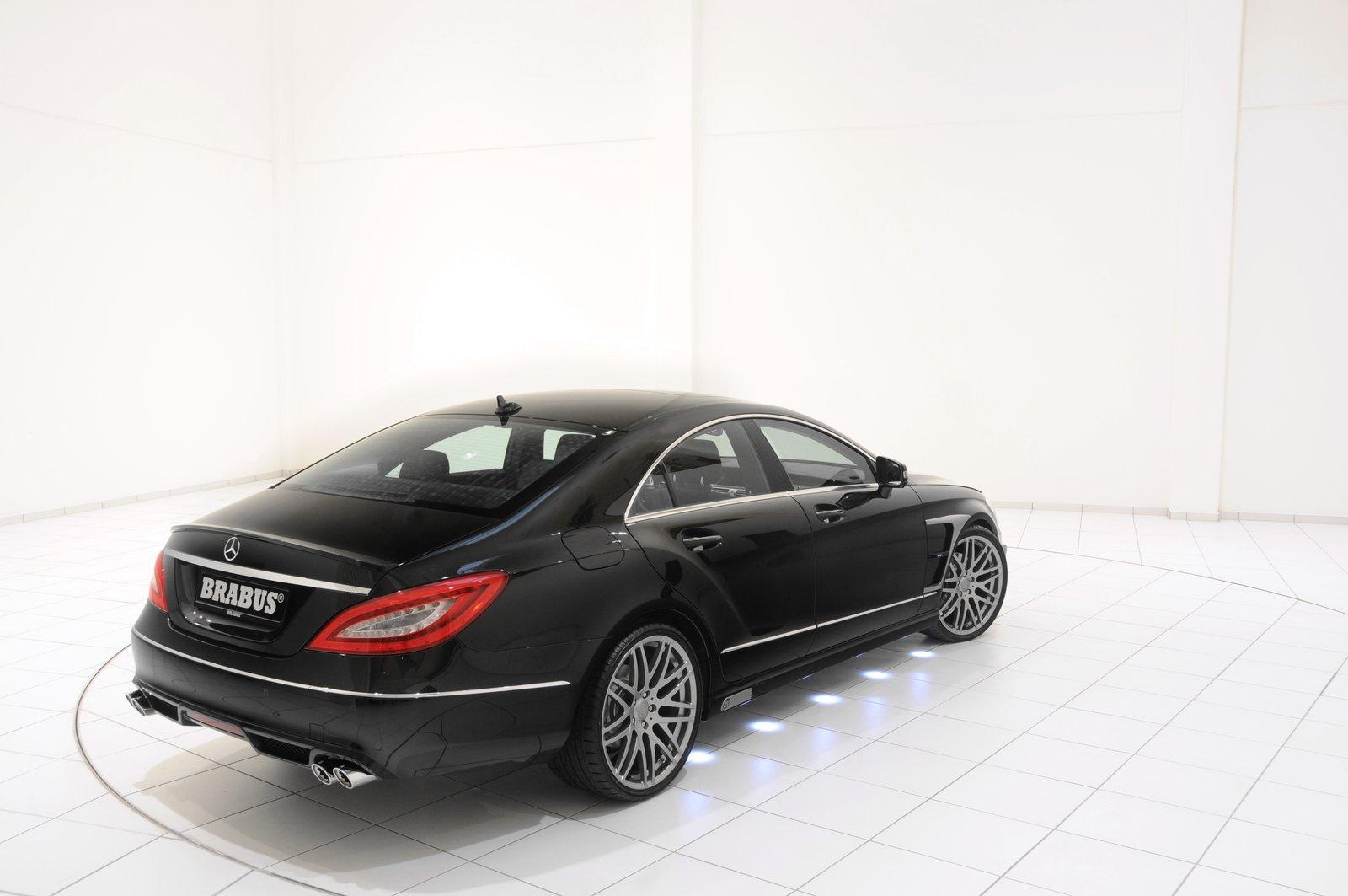 brabus cls tuning 4 mercedes tuning mag. Black Bedroom Furniture Sets. Home Design Ideas