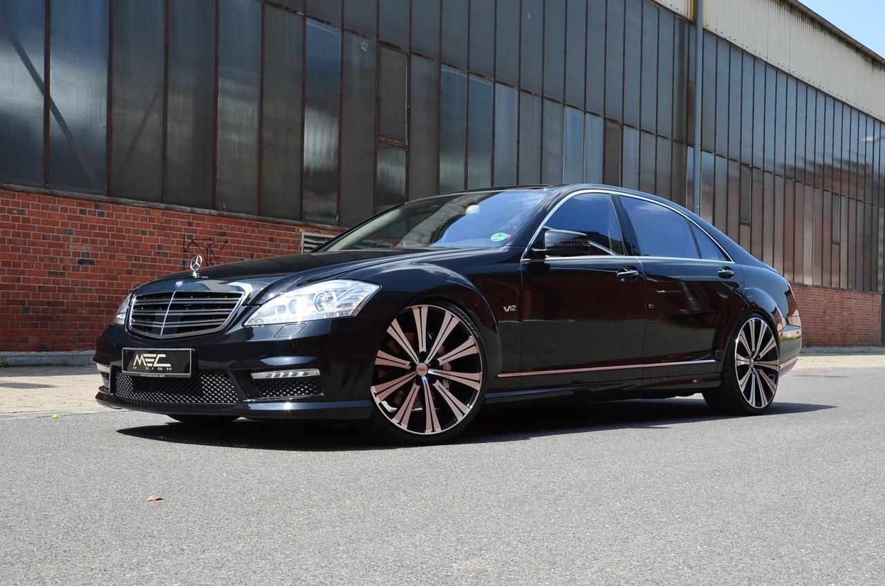 W221 S600 mec desing wheels 8 Mercedes Tuning Mag