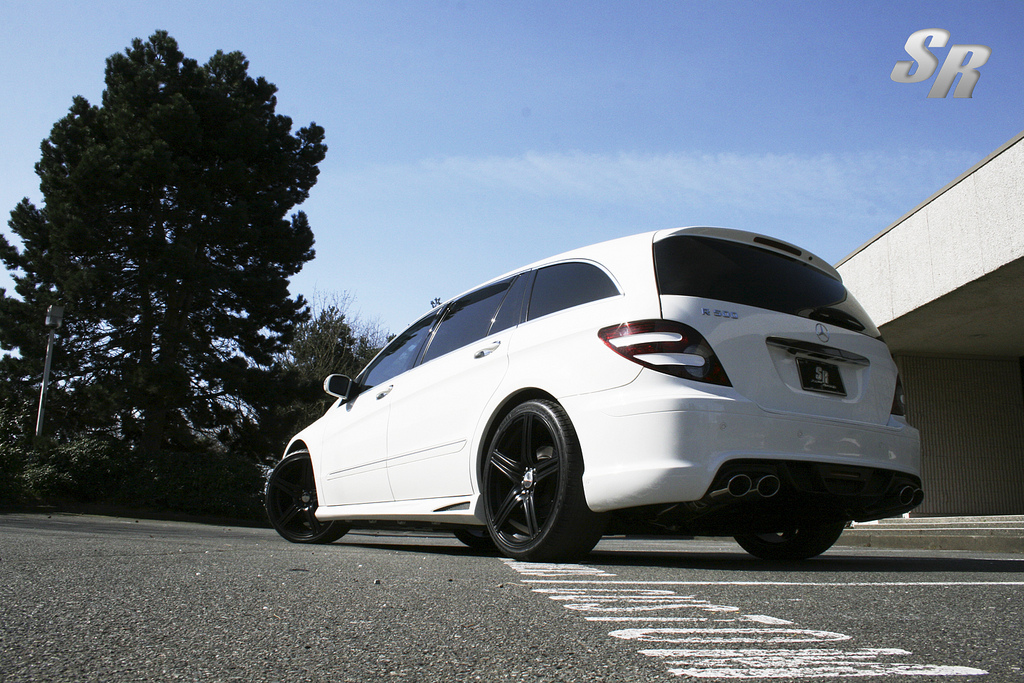 Mercedes Benz R Class Tuning Pictures