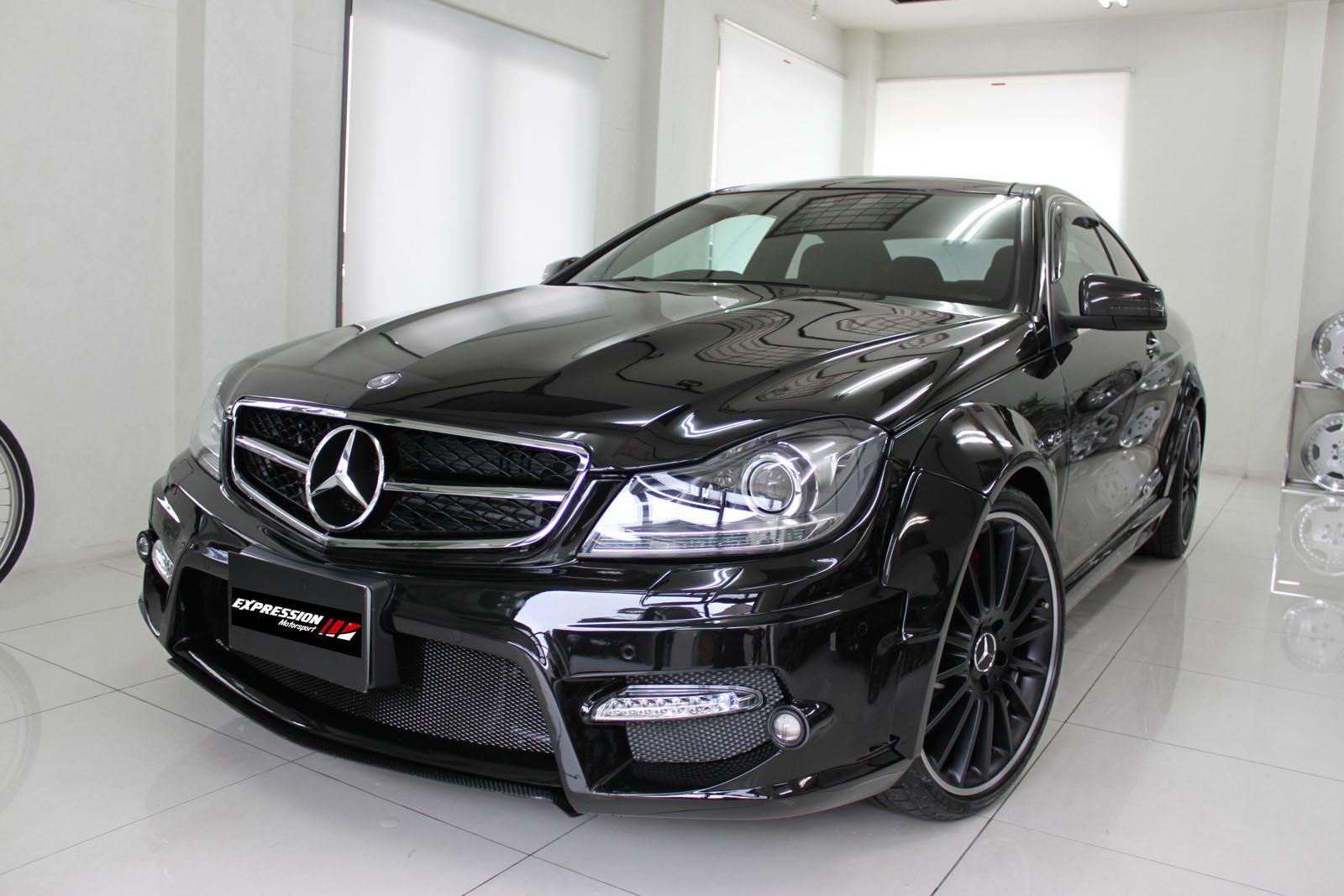 Expression body kit for c63 coupe for Mercedes benz c300 body kit