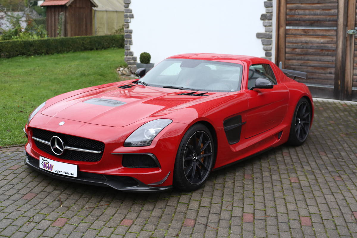 More Ground clearance for MercedesBenz SLS AMG Black Series