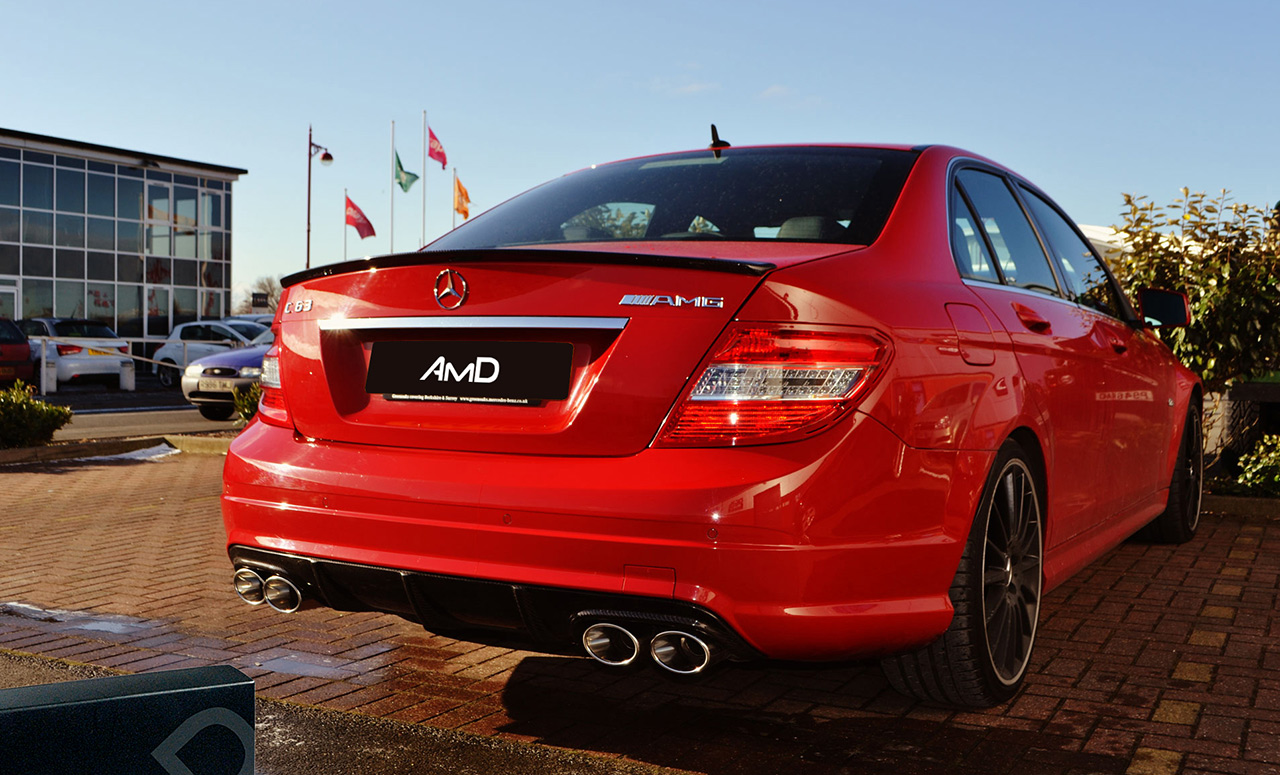 Performance Exhaust and Remap for Mercedes C63 AMG