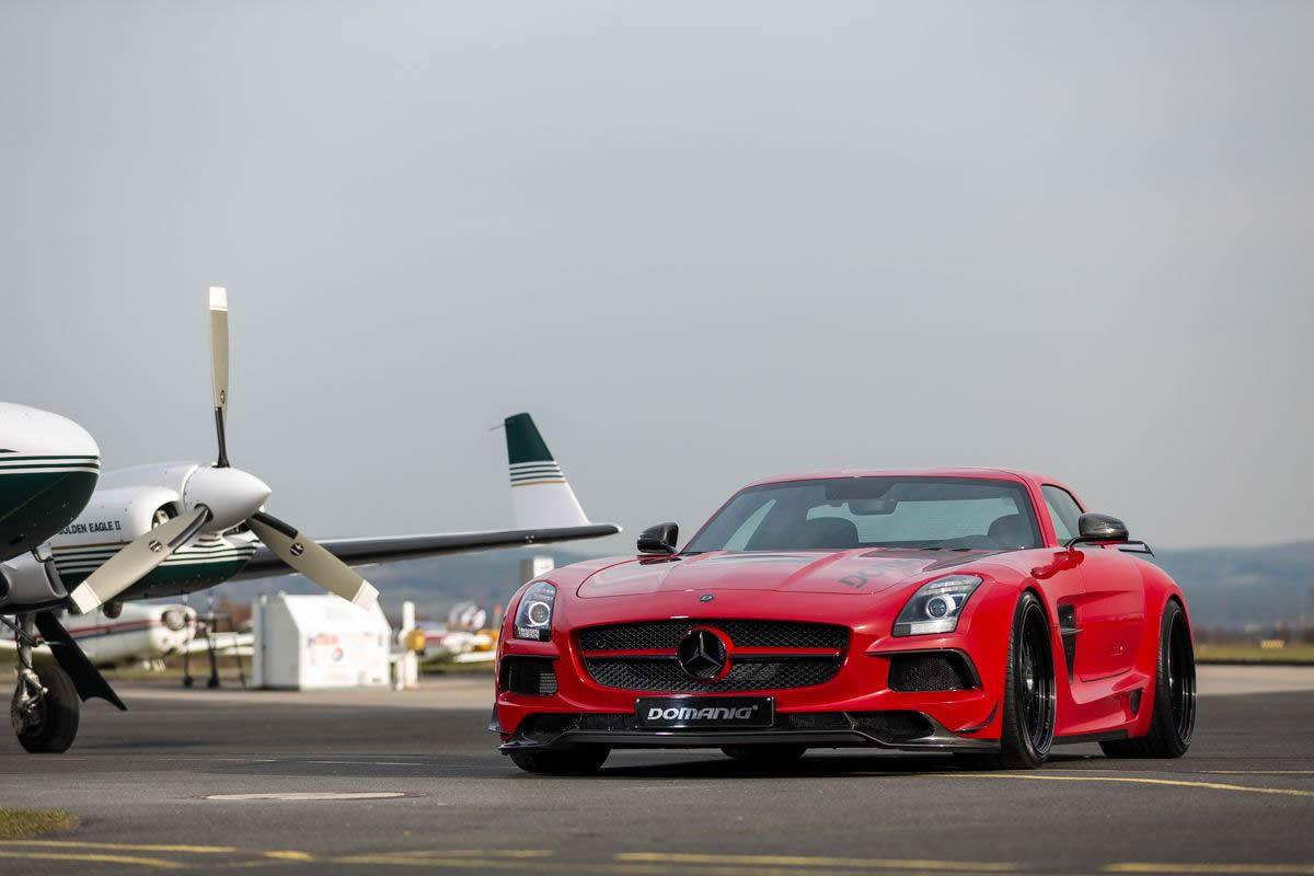 MercedesBenz SLS AMG Black Series by Domanig