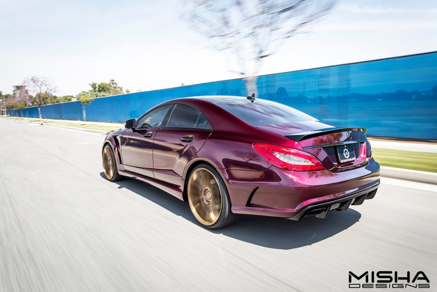 mercedes-cls-body-kit-misha-designs-burgundy-35