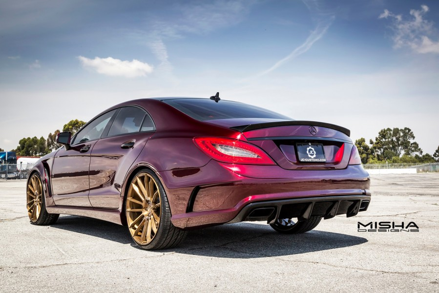 mercedes-cls-body-kit-misha-designs-burgundy-8