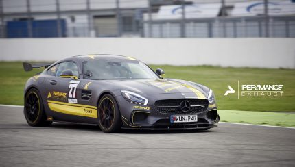The AMG GTS with 730 HP
